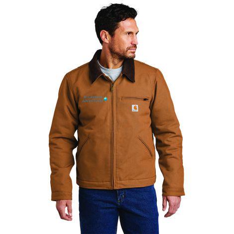 Carhartt® Duck Detroit Jacket-Carhartt Brown-Small