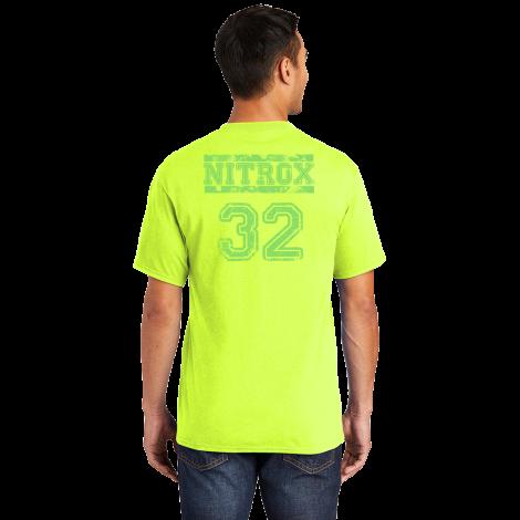 Nitrox Tee-safety green-Medium