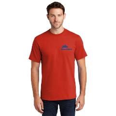 Basic Tee-fiery red-Small