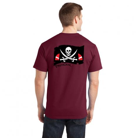 PirateGear Tee-cardinal-Small
