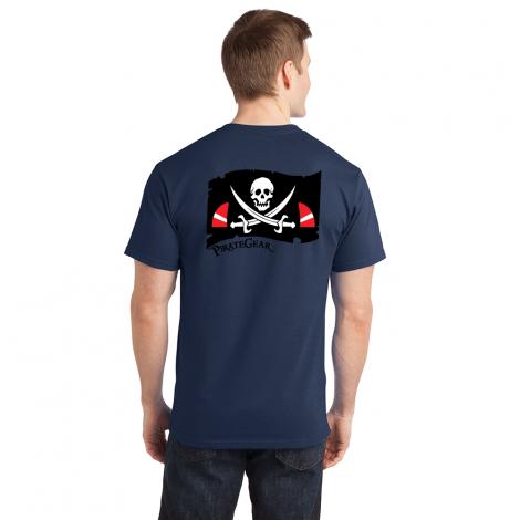 PirateGear Tee-Navy-Small