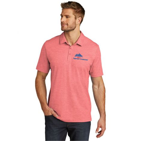 TravisMathew Oceanside Heather Polo