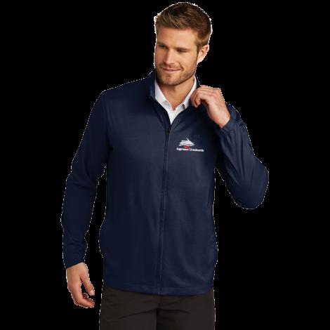 TravisMathew Surfside Full-Zip Jacket-vintage indigo-Medium